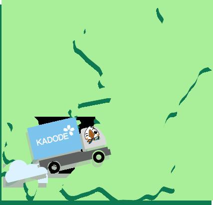 熊本県の地図1