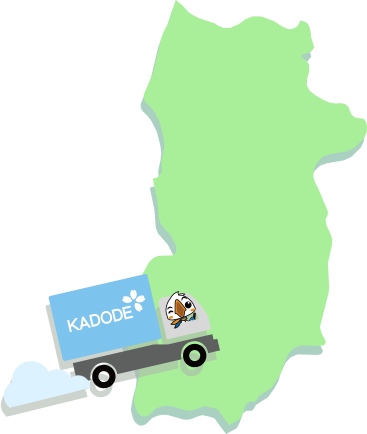 奈良県の地図1