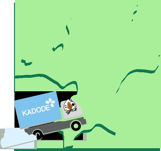 福岡県の地図1