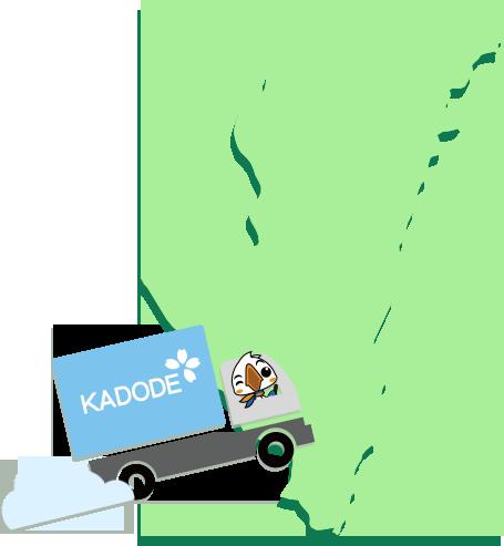 宮崎県の地図1
