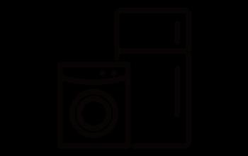 冷蔵庫・洗濯機のアイコン